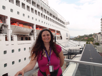 Pacific Dawn Cruise Ship - Leanne Annett