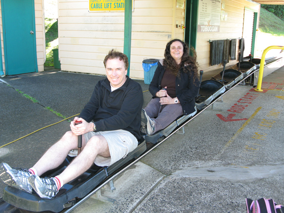 Big Banana Coffs Harbour Toboggan Ride