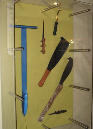 Coffs Harbour Banana Plantation Tools
