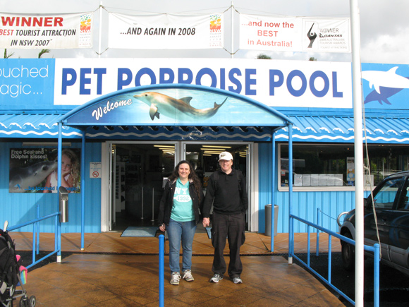 Coffs Harbour Pet Porpoise Pool Entrance