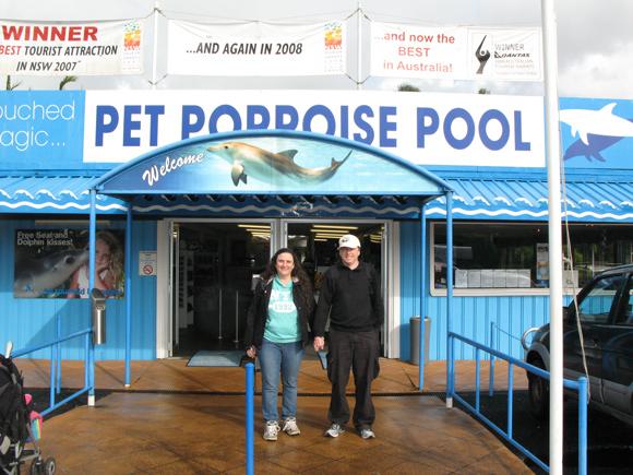 Coffs Harbour Pet Porpoise Pool Entrance
