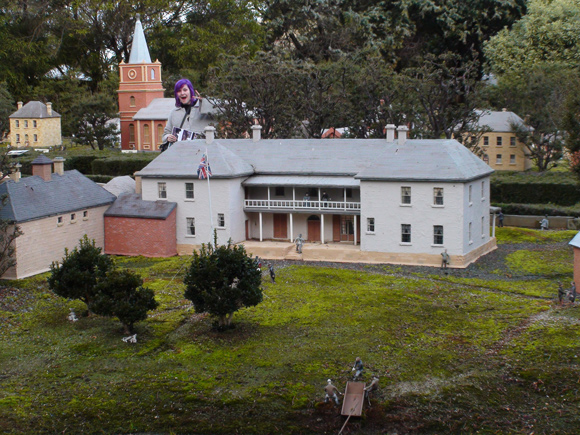 Old Hobart Town Model Village in Richmond