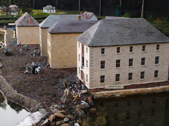 Old Hobart Town Model Village, Hunter Island