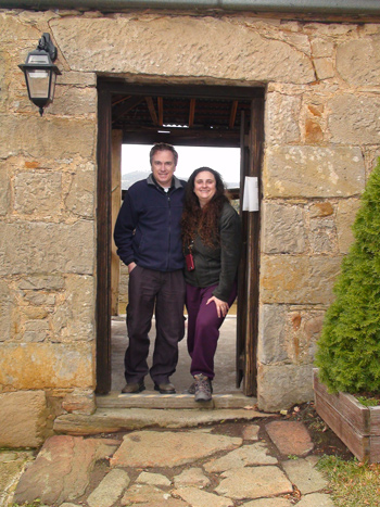 Pooley Wines with Delightful Stone Work from Convict Days