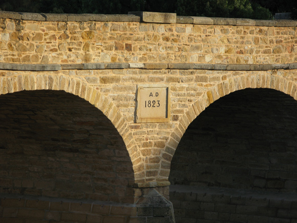 Historic Richmond Bridge, Tasmania, Built 1823