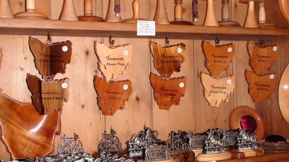 The Woodcraft Shop, Richmond, Tasmania Maps & Other Gifts
