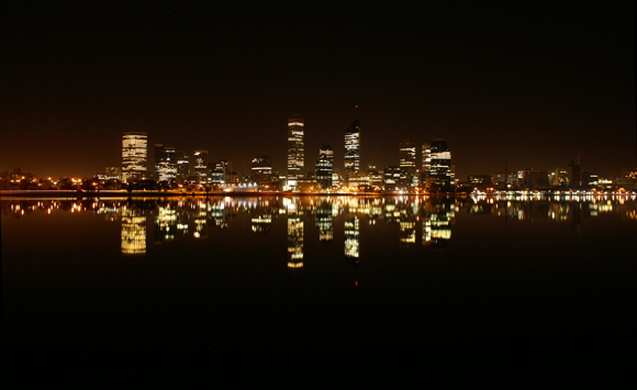 Perth CBD Beautiful Reflections