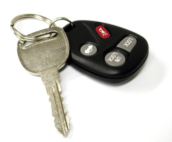 Car Keys After Getting Drivers License